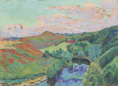 Landscape Of Creuse Poster by Armand Guillaumin