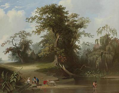 Landscape Rural Scene Poster by George Caleb Bingham