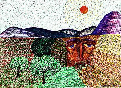 Landscape Poster by Sarah Loft