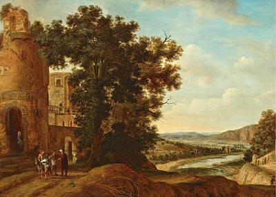 Landscape With The Good Samaritan Poster
