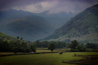 Langdale Valley Poster by Martin Newman
