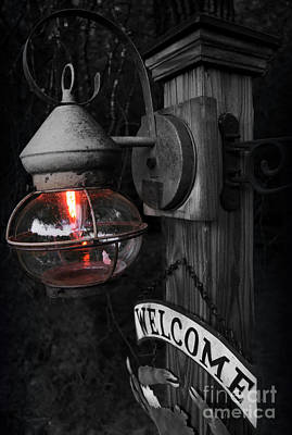 Poster featuring the photograph Lantern by Brian Jones