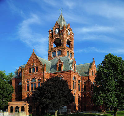 Laporte County Courthouse - Indiana Poster by Mountain Dreams