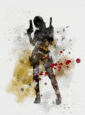 Lara Poster by Rebecca Jenkins