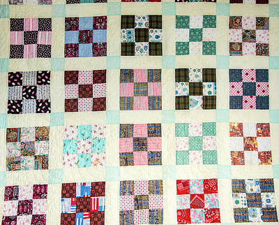 Large Quilt Poster