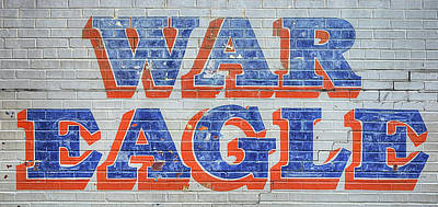 Large War Eagle Poster by JC Findley