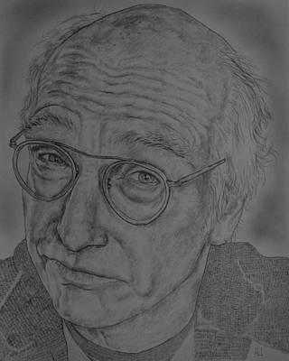 Larry David Poster by Harrison Larsen