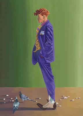 Larry Lightshoes Poster