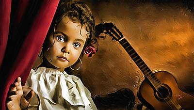 L'arte Dell'innocenza Poster by Fabio Saolini