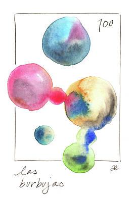 Las Burbujas Poster