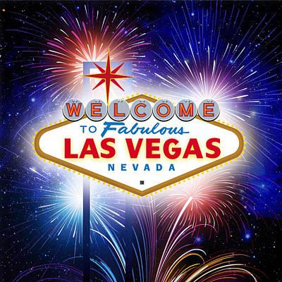 Las Vegas In Optima Forma Poster
