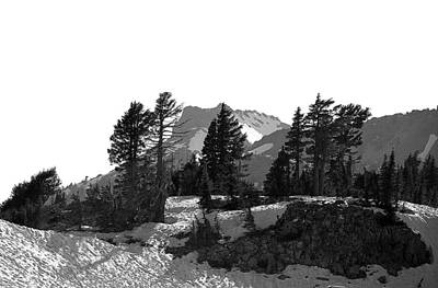Poster featuring the photograph Lassen National Park by Lori Seaman
