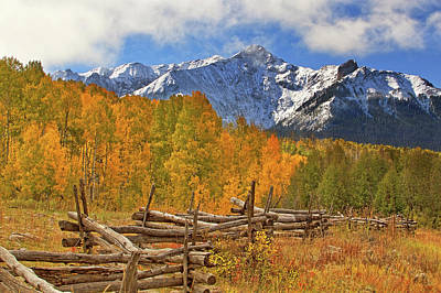 Last Dollar Road - Telluride - Colorado Poster by Jason Politte