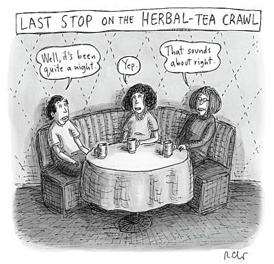 Last Stop On The Herbal Tea Crawl Poster