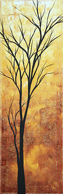 Last Tree Standing By Madart Poster by Megan Duncanson
