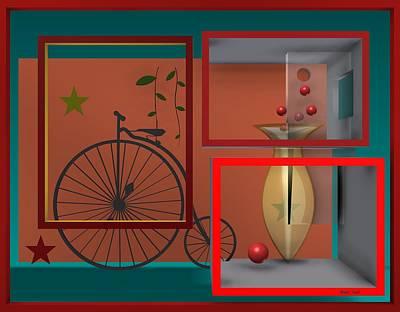 Last Years In Red Poster by Alberto  RuiZ