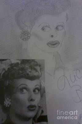 Late Actress Lucille Ball Poster