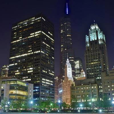 Late Night In The Windy City 2017 Poster
