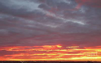 Late Prairie Sunrise Poster