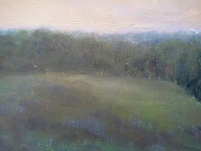Late Summer Landscape Poster