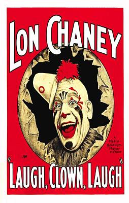 Laugh  Clown  Laugh  Poster by Movie Poster Prints