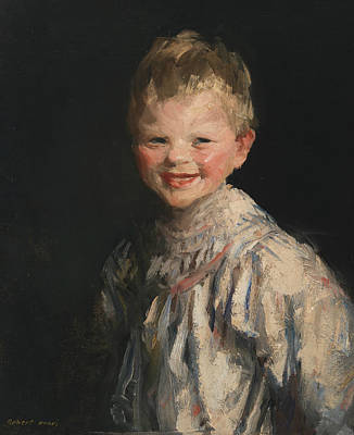 Laughing Child Poster by Robert Henri