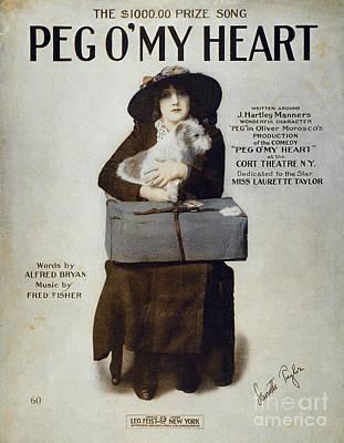 Laurette Taylor (1884-1946) Poster by Granger