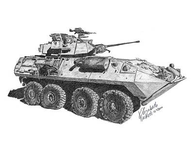 Poster featuring the painting Lav-25 by Betsy Hackett
