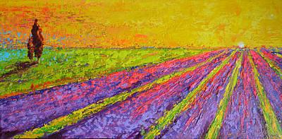 Lavender Dreams Poster by Patricia Awapara
