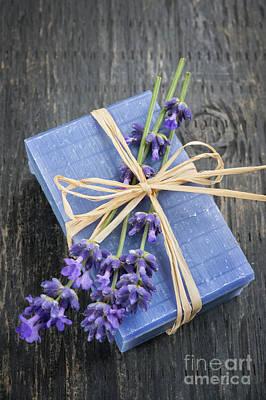 Lavender Handmade Soap Poster