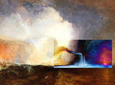 Layered 1 Turner Poster by David Bridburg