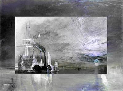 Layered 11 Turner Poster by David Bridburg