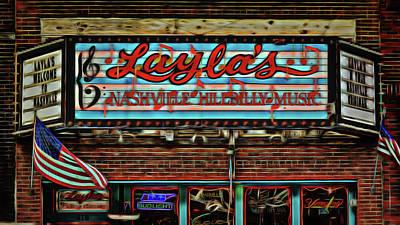 Layla's Nashville Hillbilly Music. Poster