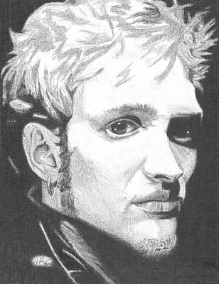 Layne Staley Poster by Jeff Ridlen