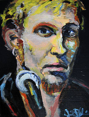 Layne Staley Poster by Jon Baldwin  Art