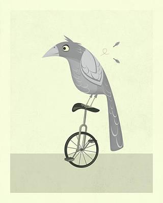 Lazy Bird Poster