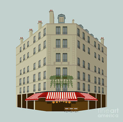 Le Bistrot Poster