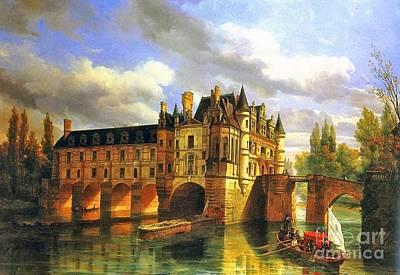 Le Chateau De Chenonceau Poster
