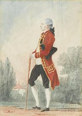 Le Chevalier De Durfort Poster by MotionAge Designs
