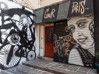 Le Coeur De Paris Poster