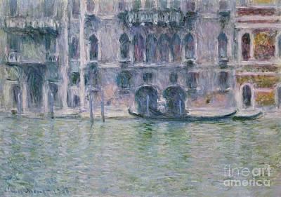 Le Palais Da Mula Poster by Claude Monet