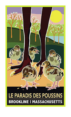 Le Paradis Des Poussins Poster