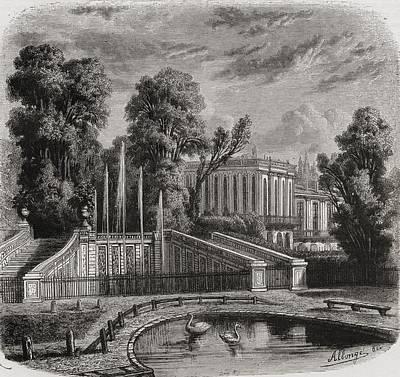 Le Petit Trianon At Versailles Poster by Vintage Design Pics