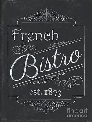 Le Petite Bistro 4 Poster by Debbie DeWitt