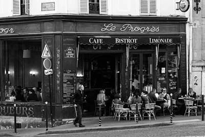 Le Progres Poster by Pati Photography