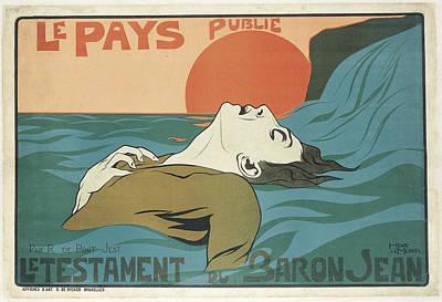 Le Testament Du Baron Jean Poster by Celestial Images