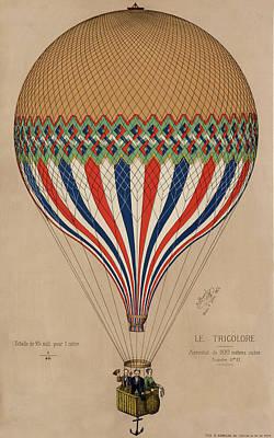 Le Tricolore Poster