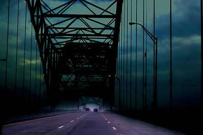 Leaving Memphis Poster by Lesa Fine