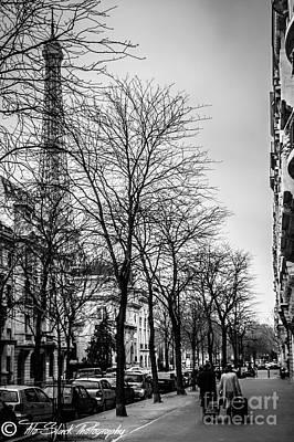 Leaving Paris Poster by Tito Slack