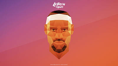 Lebron James  Poster by F S